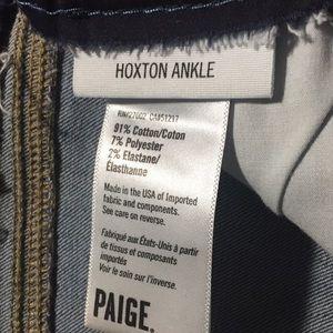 PAIGE Jeans - Paige Hoxton ankle undone